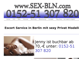 Details : Sex-Bln - Escort Service Portal in Berlin